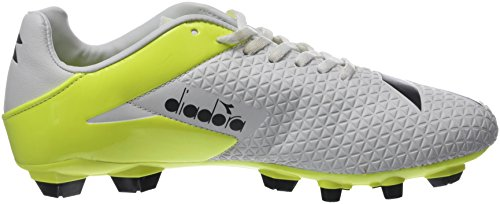 Fluo tech Mw R C0008 Sko Footbal Rb Nero Diadora Menn Hvit Lpu bianco Giallo R7nxEqf51