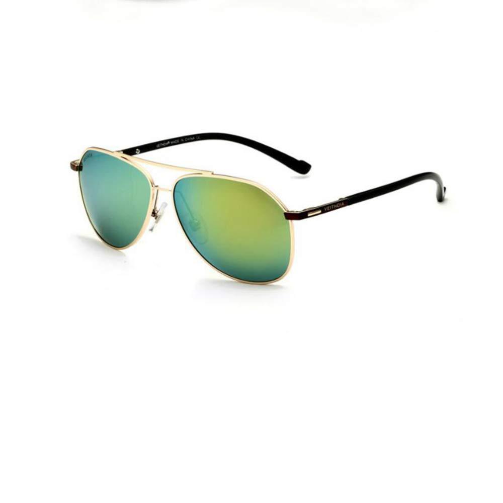 E Pink day Sunglasses Men's Inner Coating Bright color Polarizing Sunglasses Outdoor Sport Fishing Pilot AntiUv Sunglasses