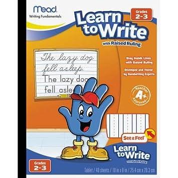 MEA48556 - Mead Acadamie Raised Ruling Writing Tablet