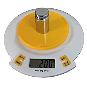 dipshop Digital Kitchen Scale 5kg with Bowl