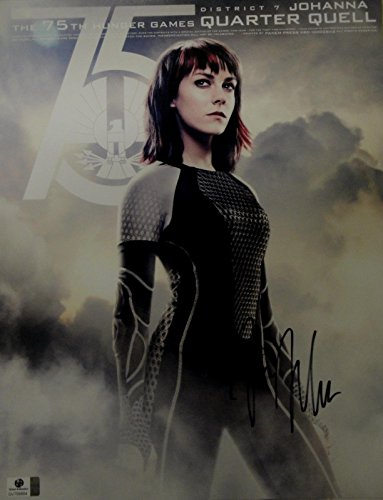 (Jena Malone Hand Signed Autographed 11x14 Photo Sexy Hunger Games GA 758864)