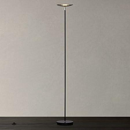 Kirk LED Uplighter Floor Lamp, Black: Amazon.co.uk: Kitchen & Home