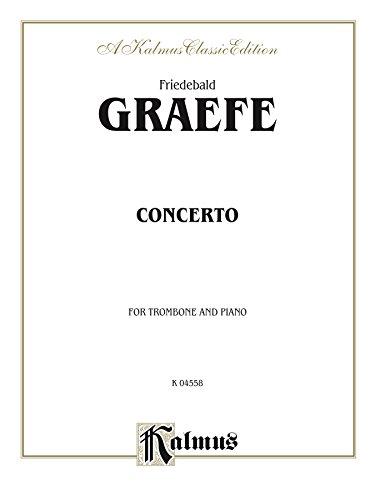 Concerto: For Trombone Solo (Kalmus Edition)