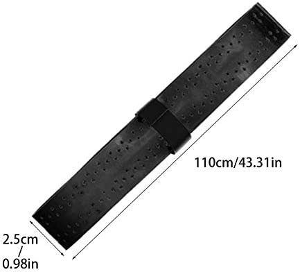 Uteruik Badminton Tennis Racket Sweat Absorbing Blue Foam Grip Tape