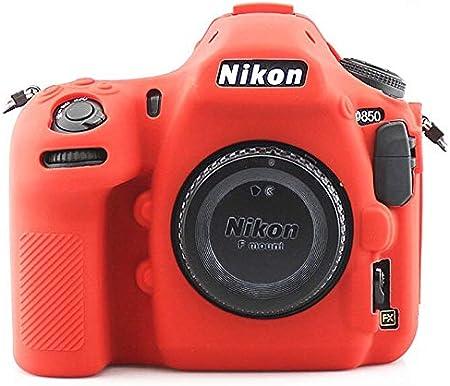 Color : D3500 Black Pinyu Camera Silicone Case Cover Protector for Canon EOS RP Nikon Z7 Z6 D3400 D3500 D5300 D5500 D5600 D7100 D7200 D7500 D750 D850 DSLR