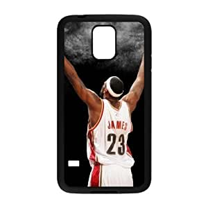 SamSung Galaxy S5 I9600 2D Custom Phone Back Case with LeBron James Image