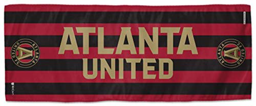 Two Sided Graphics - WinCraft Atlanta United Cooling Towel with 2 Sided Graphics, 12x30 inches