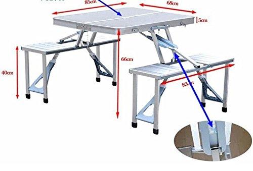 Outdoor tragbare Aufbewahrung Quadratisch Stall Tische Klapptisch und Stühle PUBLICITY and Advertising Tische Outdoor Bereich Set der Tisch