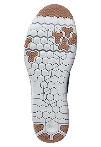 Nike Free Trainer 3.0 V4, Zapatillas de Deporte Exterior Para Hombre Negro / Azul / Blanco (Black / Bl Lgn-Brgd Bl-Pr Pltnm)
