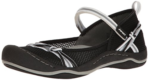 Jsport By Jambu Womens Misty Encore Walking Shoe Nero / Bianco