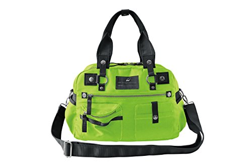 Koi Women's Utility Bag Versatile and Fashionable with Lots Of Pockets (Medium, Green)