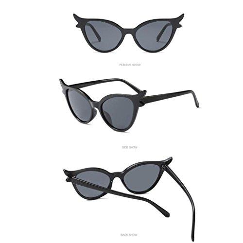 Hommes Lunettes Soleil Sunglasses D de Bluestercool Vintage Femmes Unisexe qXt14qZx