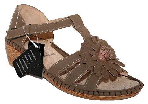 Cushion Walk - Zapatos con tacón mujer Marrón - marrón