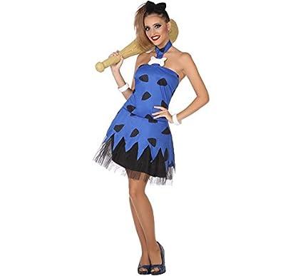 Atosa-53881 Atosa-53881-Disfraz Cavernicola-Adulto XL-Mujer, Color ...