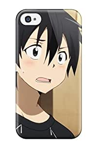 2536831K125886775 screenshots anime art kirigaya aincrad Anime Pop Culture Hard Plastic iPhone 4/4s cases