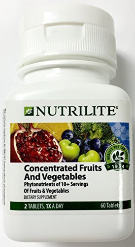 Nutrilite Concentrated Fruits and Vegetables 60 Tablets by Amway