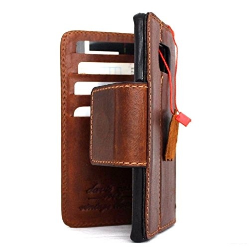 Genuine Vintage oiled Leather Case for Samsung Galaxy S7 edge Book Wallet Luxury Cover S Handmade Retro Id s 7 brown Art