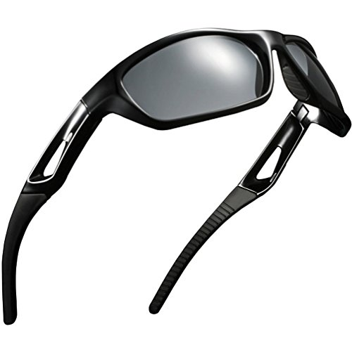 Polar Sport Sunglasses Cycling, Motorcycle Goggles (Black box, - Polar Sunglasses Sports
