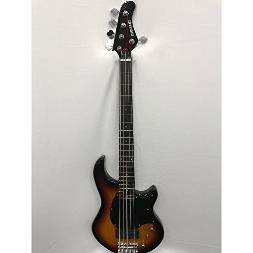 Fernandes Atlas - Fernandes Atlas 5 Deluxe Bass Guitar - 3 Tone Sunburst