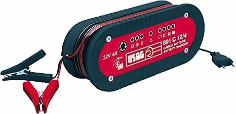 Usag - 891 C 12/4 - Cargador - Mantenedor de Carga 12 V/4 A ...