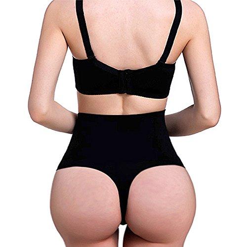 High Waist Slimming Thong - 6
