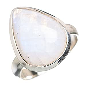 Amazon.com: Ana Silver Co Rainbow Moonstone 925 Sterling ...