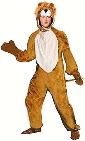Disfraz León para Adulto (Talla S) (+ Tallas) Carnaval Animales ...