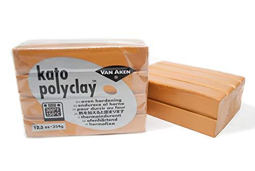 Van Aken International VA12591 12.5 oz Metallic Kato Polyclay, Gold