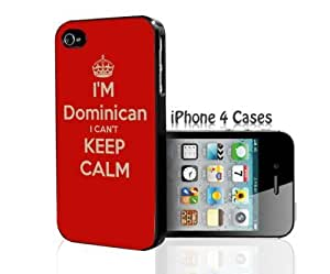 TYH - I'm DOMINICAN I Can't KEEP CALM iPhone 4/4s case ending phone case