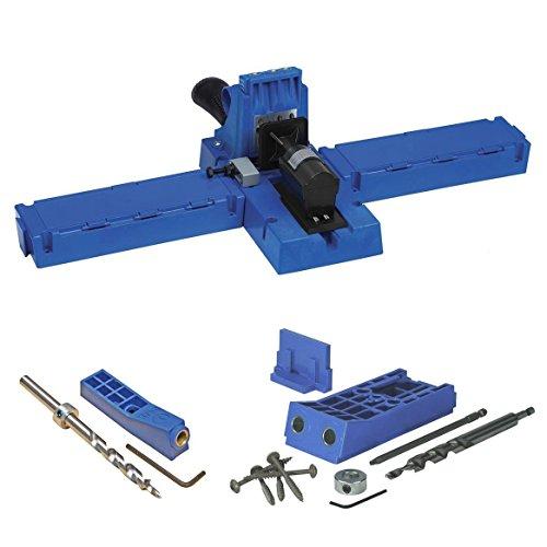 Kreg Mini Kreg Jig (Kreg Jig K5 Pocket Hole with MKJKIT Mini Kreg Jig and Kreg HD KJHD Starter Kit)