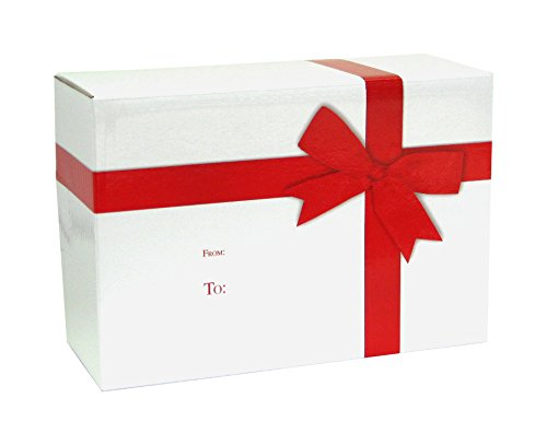 Jillson Roberts 6-Count Decorative Gift and Mailing Boxes Available in 4 Designs and 3 Sizes, Small, Perfect Gift