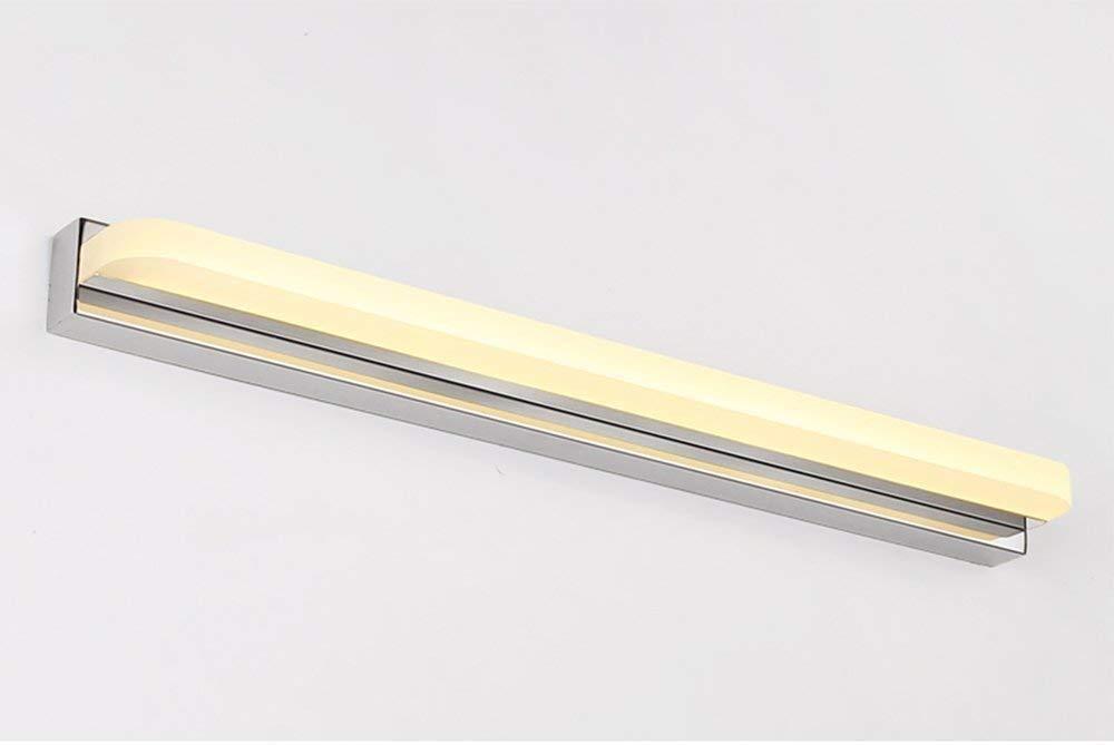 【本物保証】 Xiaoyuna Warm ミラーヘッドライト Xiaoyuna - シンプルモダンスタイルステンレススチールボディアクリルランプシェードLEDミラーフロントライトバスルームウォールライト (Color (Color : Warm Light-62cm) B07QFKKCKF, 富士スポーツ:7a0ac91a --- wattsimages.com
