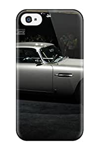 For Iphone 4/4s Tpu Phone Case Cover(aston Martin Db5 31)