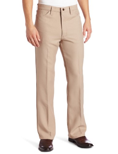 Wrangler Men's Wrancher Dress Pant,Dark Beige,36x29 by Wrangler