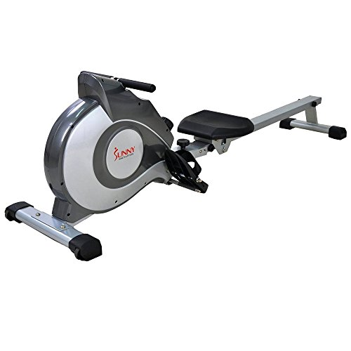 Sunny Health & Fitness SF-RW5515 Magnetic Rowing Machine Rower w/ LCD Monitor by Sunny Health & Fitness