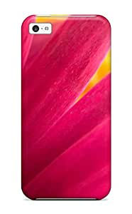 Fashion DVOBMcu4478ZZmpB Case Cover For Iphone 5c(pink Flower Widescreen)