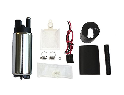 255LPH High Flow Electric Intank Fuel Pump With Strainer and Installation Kit GSS342