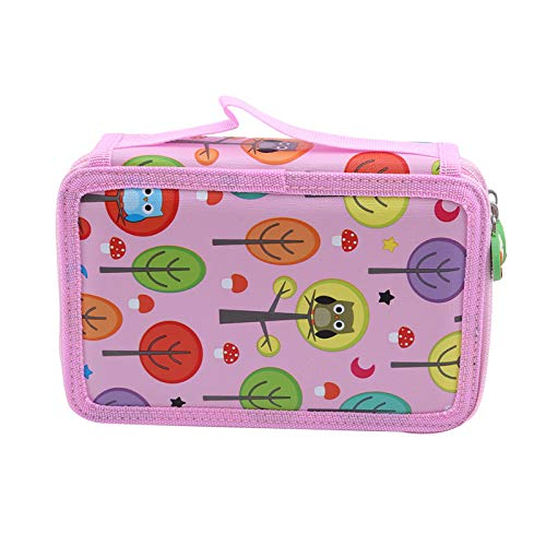 Storage Bags - 32 52 72 Slots Drawing Brush Pencil Bag Chancery Stationery Gifts Colorful Student Fabric Pen Pouch - Eagle Reusable Decorations King Holder Toys Small Blanket Vacuum Keep Sandwic
