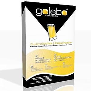 Golebo Semi-Matt protectores de pantalla para emporia LIFE plus - (efecto antirreflectante, montaje muy fácil, removible sin residuos)