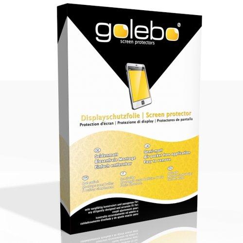 GOLEBO 2X Anti-Glare Screen Protector for Garmin Approach S60 (Anti-Reflex, Air Pocket Free Application, Easy to Remove)