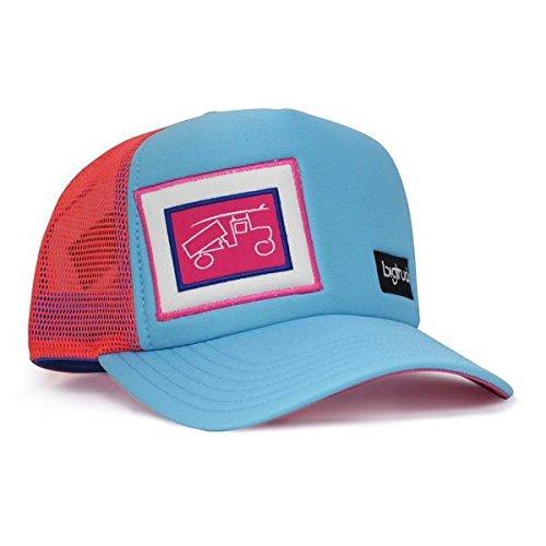 bigtruck Original Kids Mesh Snapback Kids Trucker Hat, Surf Blue (Big Boy Hats)