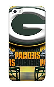 New Tpu Hard Case Premium Iphone 5/5s Skin Case Cover(greenay Packers )