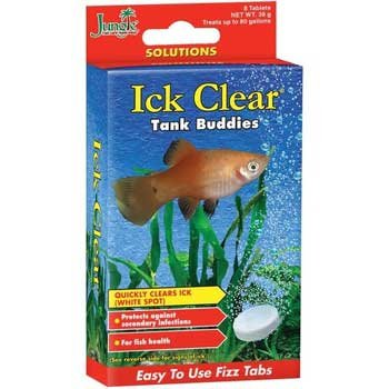 Water Clear Tablets Tank Buddy - Ick Clear Tank Buddy Tablets 8 Tab