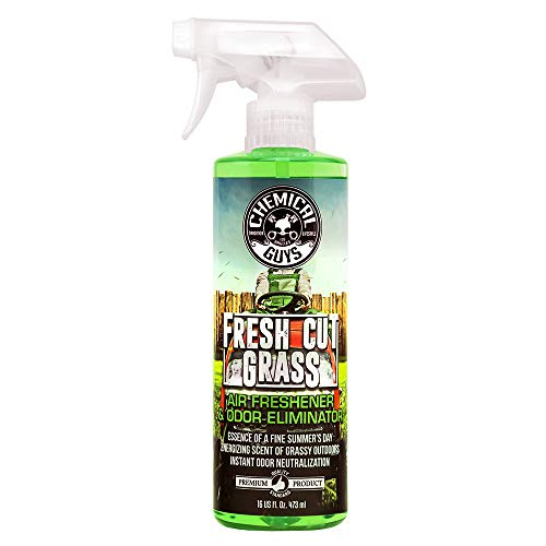 Chemical Guys AIR24316 16 oz Fresh Cut Grass Air Freshener & Odor Eliminator, 16. Fluid_Ounces