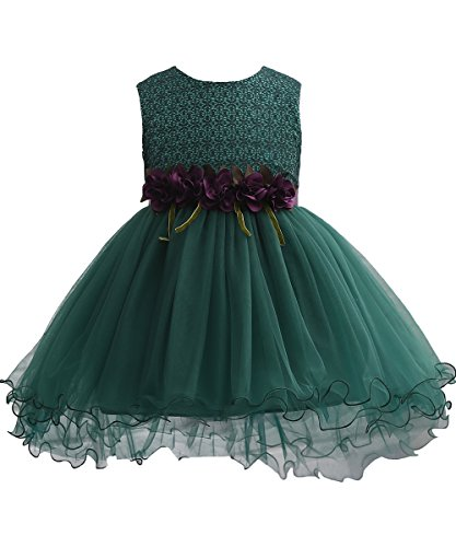 green holiday party dress - 4