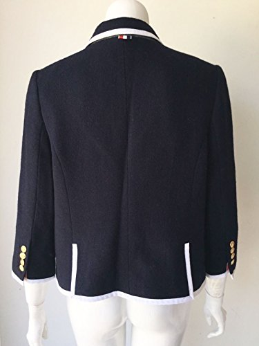 Thom Browne for Neiman Marcus + Target Navy Wool Blazer Size Medium by Thom Browne (Image #5)