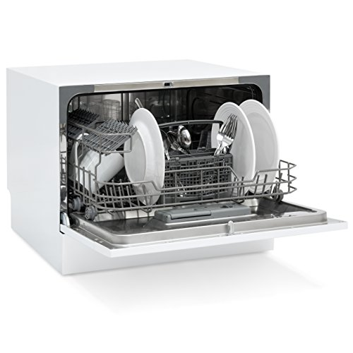 Best Choice Products Small Spaces Kitchen Countertop Portable Dishwasher w/ 6 Wash Cycles and Preset Start Function by Best Choice Products (Image #1)