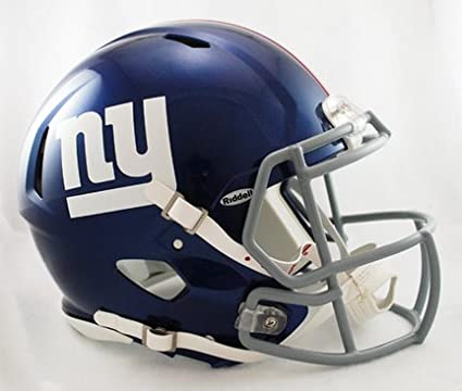 6e920e2bf13 Image Unavailable. Image not available for. Color  New York Giants NFL Authentic  Speed Revolution Full Size Helmet from Riddell