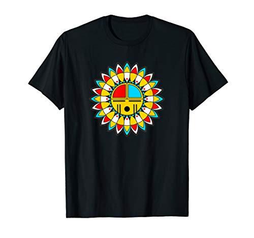 (Native American KACHINA - TAWA Sun Mask 9 - Fun)