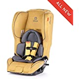 Diono Rainier 2AX Convertible Car Seat, for Children from Birth to 65 Pounds, Yellow Sulphur